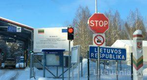Очередь на границе с Литвой онлайн