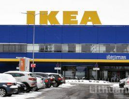 Магазин ИКЕА в Вильнюсе