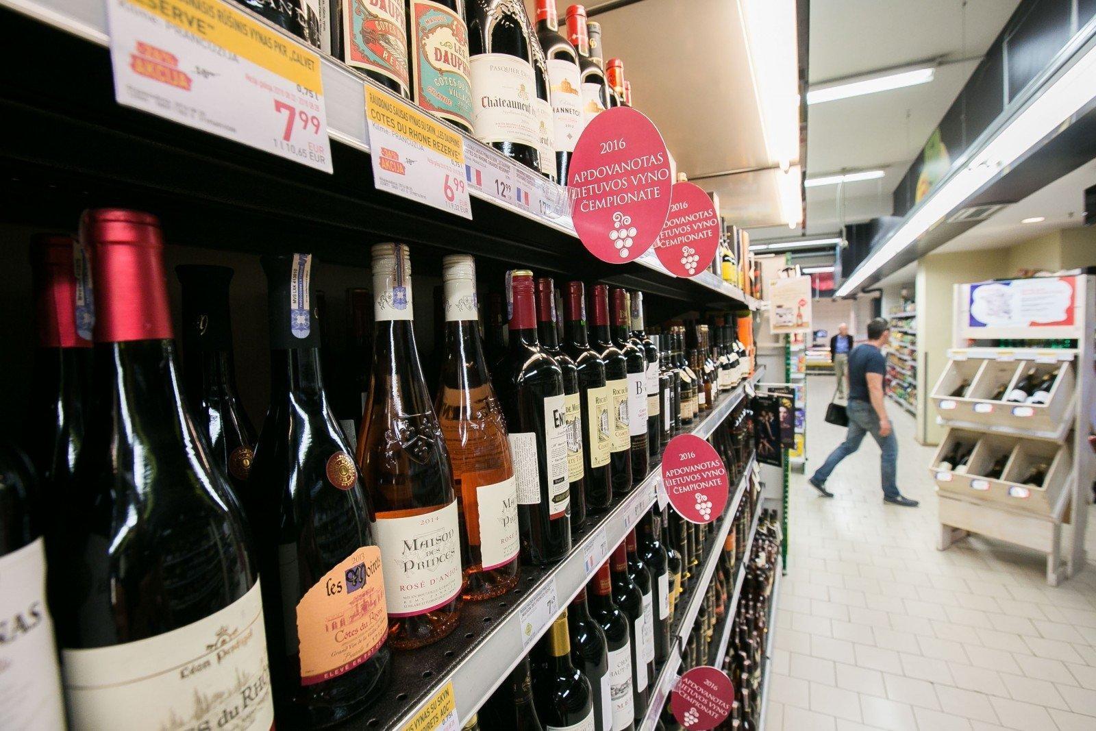 В Литве с ноября меняются условия продажи алкоголя