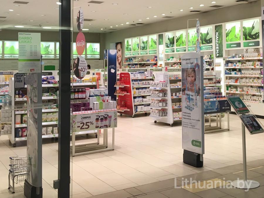 "Аптека ""Benu"" в Литве"