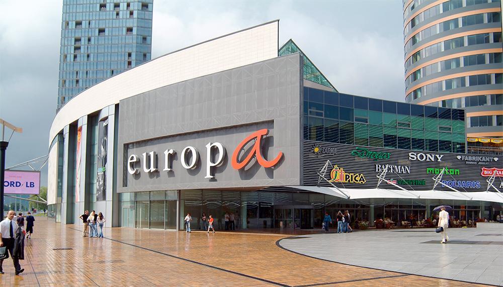 Торговый центр Europa в Вильнюсе