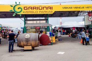 Рынок Гарюнай в Вильнюсе