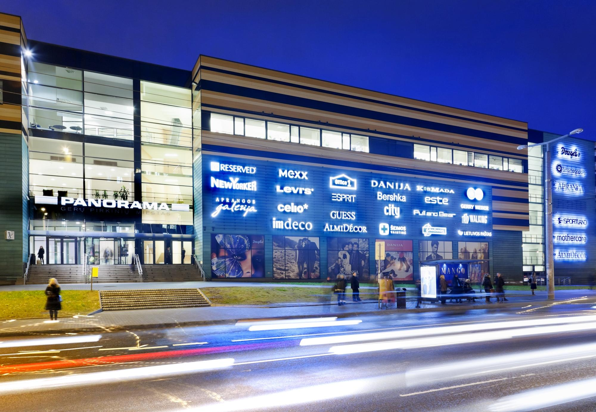 Торговый центр Panorama в Вильнюсе