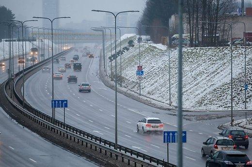 Западную объездную дорогу в Вильнюсе откроют раньше установленного срока
