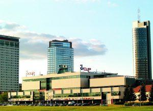 Торговый центр VCUP в Вильнюсе