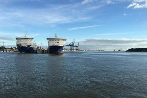Клайпедский порт сохранил лидерство в Балтийских странах