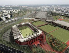 Национальный стадион в Вильнюсе будет открыт в 2022 году