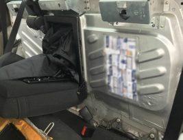 Житель Беларуси провозил контрабанду на машине с дипномерами