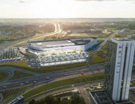Через несколько лет в Вильнюсе построят новый огромный ТЦ