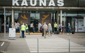 Аэропорт Каунас улучшает показатели — уже обслужен 1 млн пассажиров
